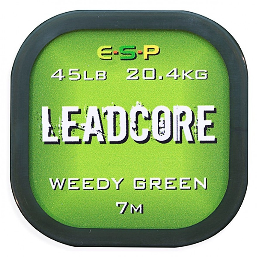 ESP - Leadcore Weedy Green 45lb 7m