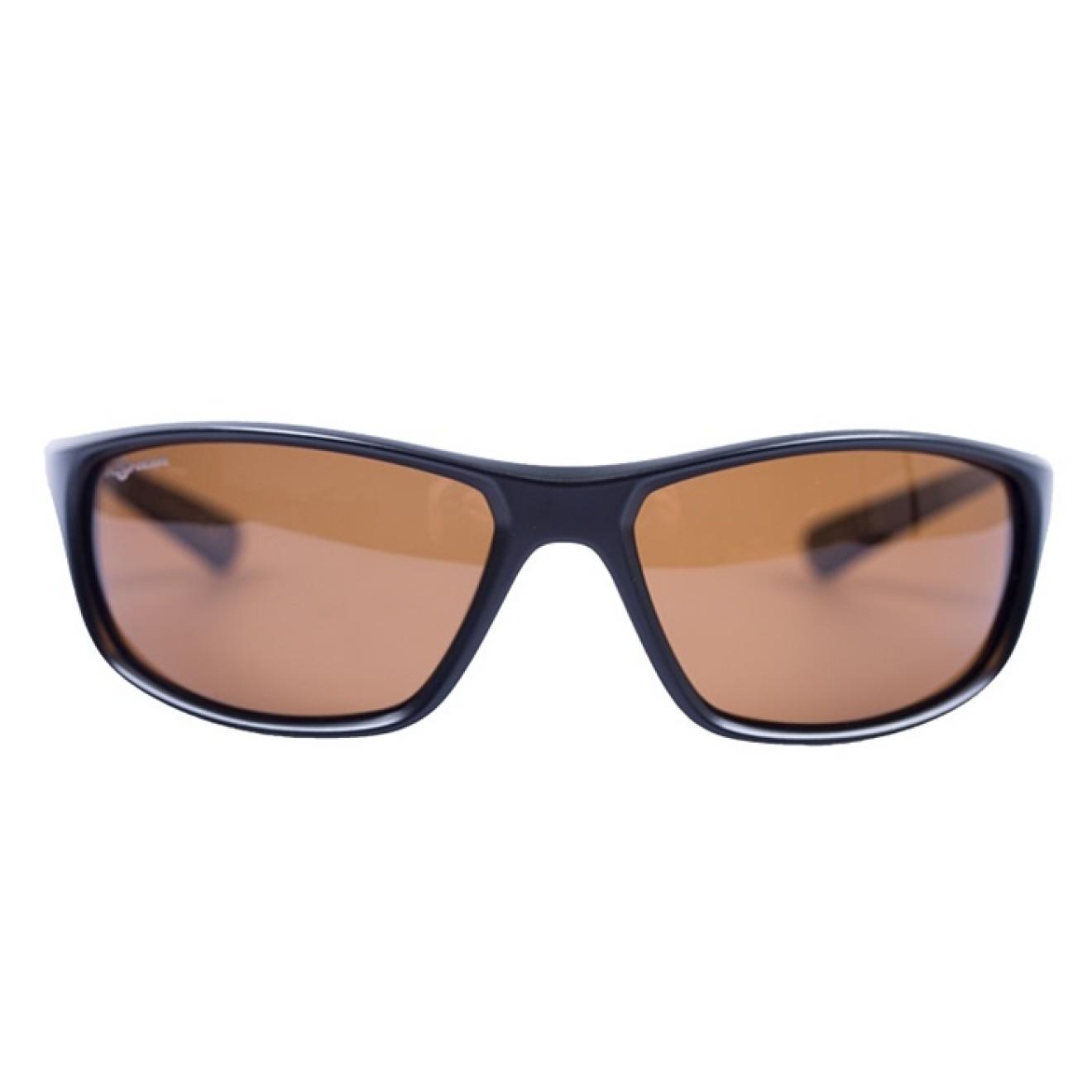 a3b6fed24fe Korda - Wraps Sunglasses Gloss Black Brown Lense