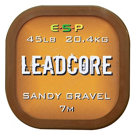 ESP - Leadcore Sandy Gravel 45lb 7m