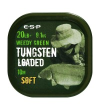 ESP - Tungsten Loaded Coated Braid Soft Weedy Green