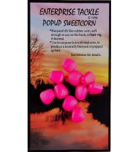 Enterprise Tackle - Pop Up Sweetcorn Fluoro Pink 10 Stück