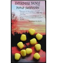 Enterprise Tackle - Pop Up Sweetcorn Yellow 10Stück