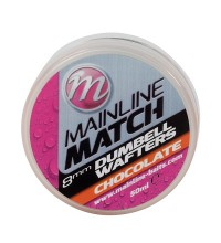Mainline - Match Dumbell Wafters Chocolate 8mm Orange