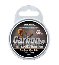 Savage Gear - Carbon 49 Coated Wire 0,70mm 10m