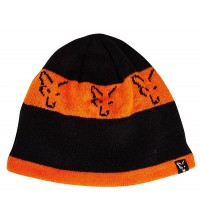 Fox - Black & Orange Beanie