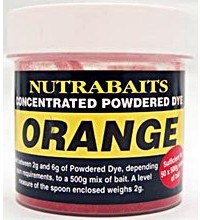 Nutrabaits - Concentrated Powdered Dye Orange