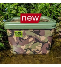 Rod Hutchinson - Camo Square Bucket 10 Liter